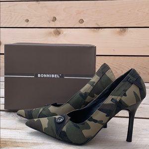 🆕. Bonnibel Camo Women's Heels